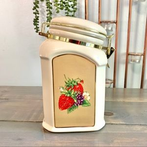 Vintage Kitchen - Vintage Knott's Berry Farm Canister Cookie Jar